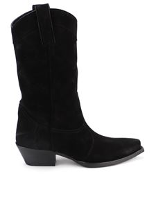 Saint Laurent - Lukas boots in black