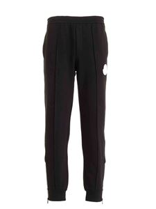 Moncler - Inner drawstring track pants in black