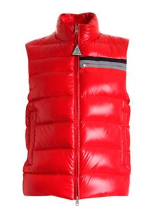 Moncler - Parpaillon padded waistcoat in red