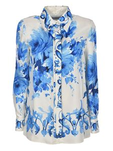 Valentino - Shirt in white with floral print