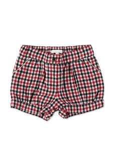 Chloé - Red Vichy shorts