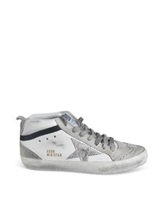 Golden Goose - Sneakers Mid Star Classic bianche