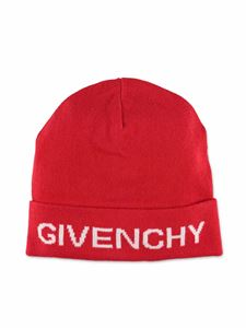 Givenchy - Red beanie with logo