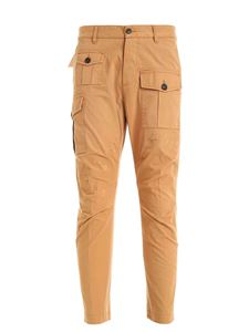 Dsquared2 - Light brown pants featuring pockets