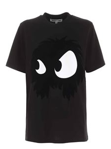 McQ Alexander Mcqueen - Mad Chester Slouchy print T-shirt in black