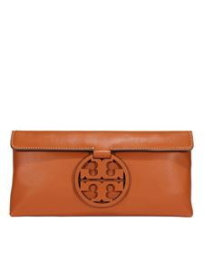Tory Burch - Miller clutch in brown