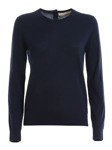 Tory Burch - Iberia cashmere pullover in blue