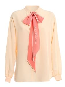 Givenchy - Bow blouse in pink