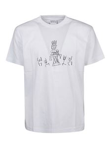 Marcelo Burlon County Of Milan - Totem Tribe T-shirt in white