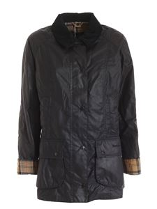 Barbour - Beadnell Wax jacket in black