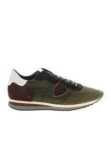 Philippe Model - Trpx L U sneakers in green blue and brown