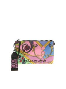Versace Jeans Couture - Logo print multicolor clutch bag