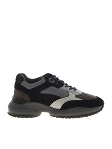 Hogan - Interaction sneakers in black and grey