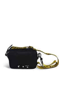 Off-White - Bag in black with Industrial shoulder strap
