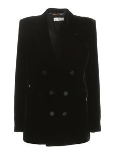 Saint Laurent - Double-breasted jacket in black