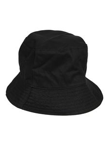 Off-White - Logo print bucket hat in black