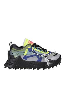 Off-White - Odsy neon detailed sneakers