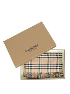 Burberry - Mer baby blanket in Archive Beige