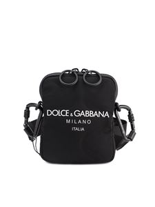 Dolce & Gabbana - Scuba cross body bag in black