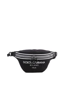Dolce & Gabbana - Scuba belt bag in black