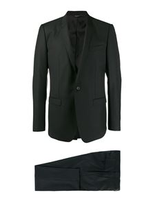 Dolce & Gabbana - Virgin wool suit in black