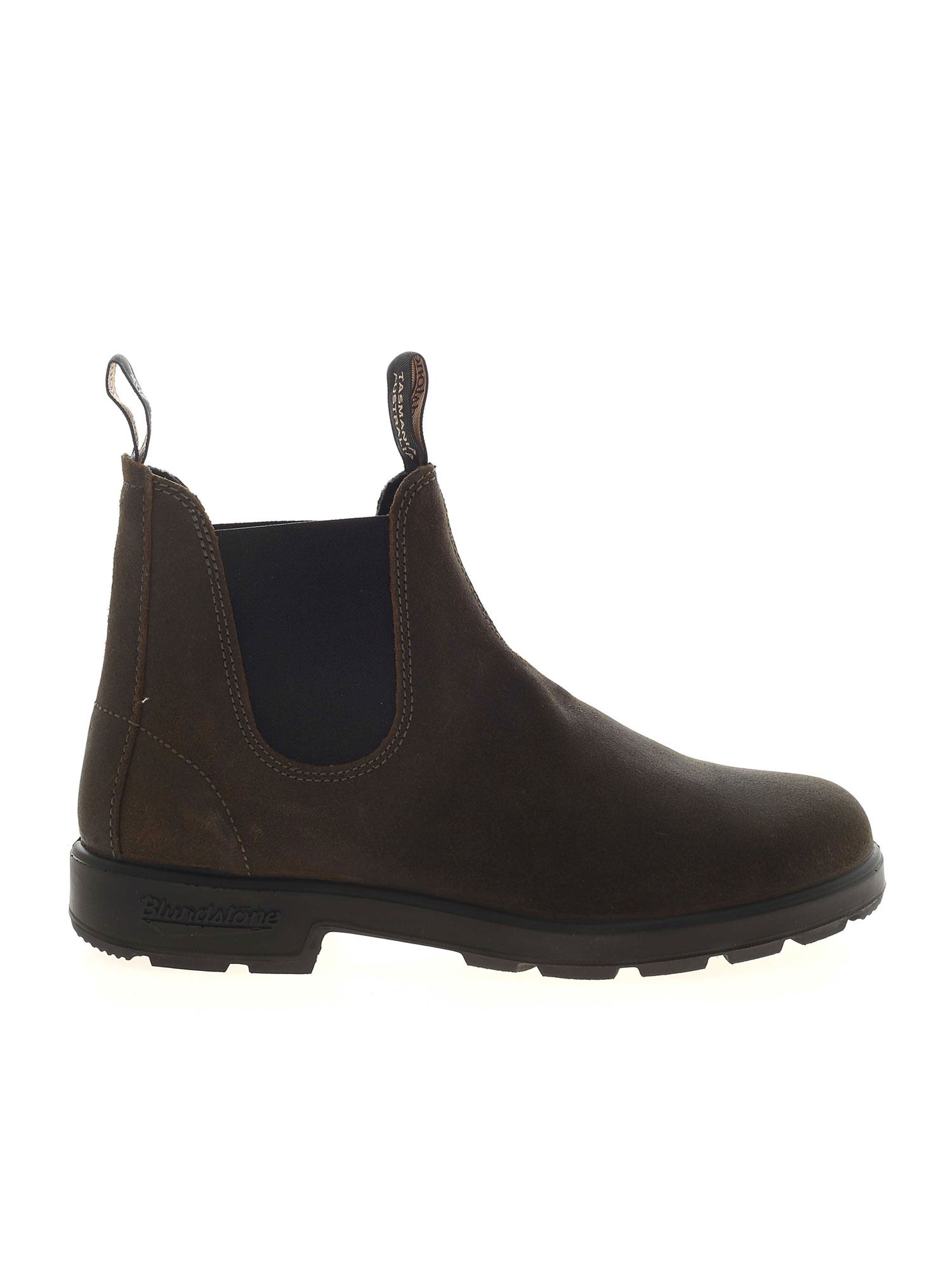 Blundstone CHELSEA GREEN ANKLE BOOTS WITH STRETCH INSERTS