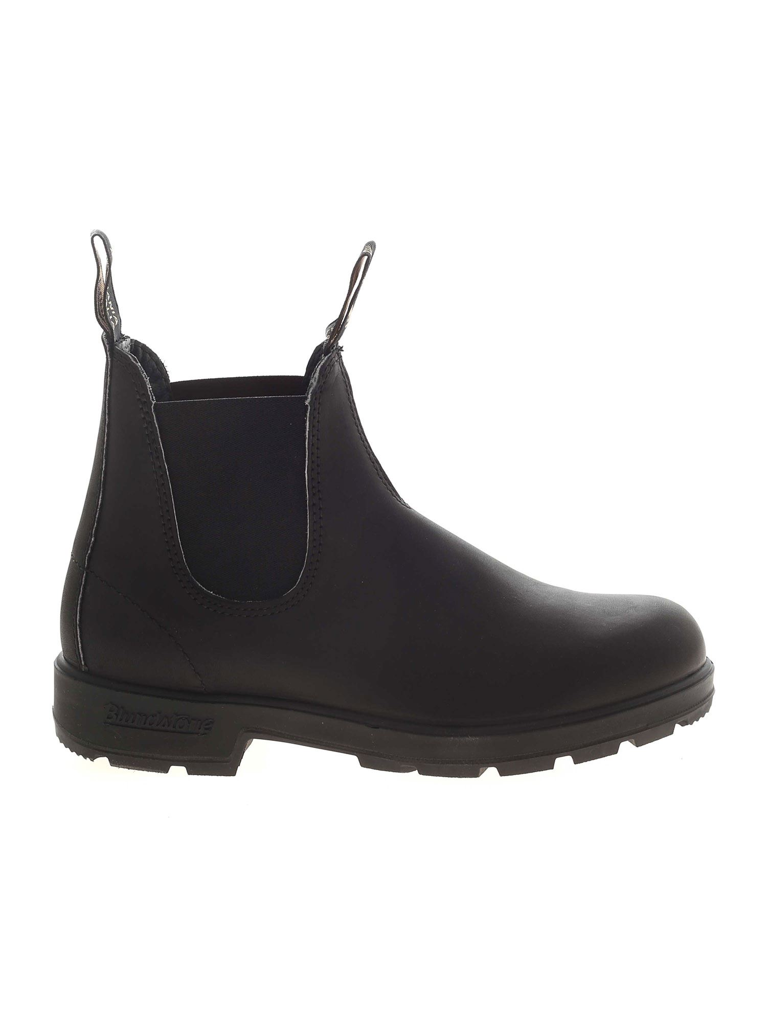 Blundstone CHELSEA BLACK ANKLE BOOTS WITH ELASTICATED INSERTS
