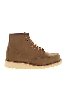 Red Wing shoes - Green ankle boots