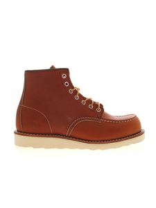 Red Wing shoes - Legacy Moc Toe ankle boots in brown