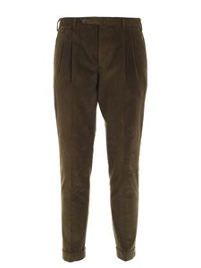 PT01 - Corduroy pants in grey