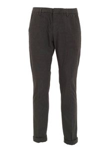 Dondup - Gaubert pants in black and beige