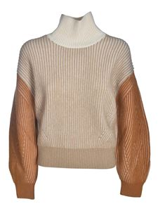 Kenzo - Ribbed pullover in beige