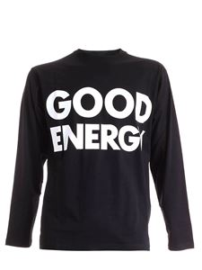 Moschino - T-shirt maniche lunghe Good Energy nera