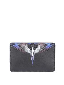 Marcelo Burlon County Of Milan - Portacarte con stampa Wings nero