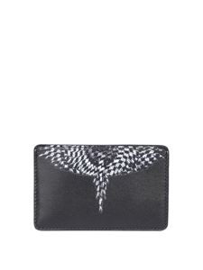Marcelo Burlon County Of Milan - Portacarte Cross Wings nero