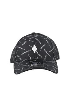 Marcelo Burlon County Of Milan - Starter all over logo baseball cap in black