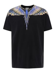 Marcelo Burlon County Of Milan - Wings logo T-shirt in black
