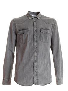 Dondup - Denim Western Basic shirt in grey