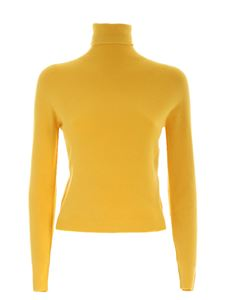 Ermanno by Ermanno Scervino - Crop fit turtleneck in yellow