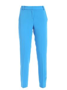 Ermanno by Ermanno Scervino - Crepe pants in turquoise
