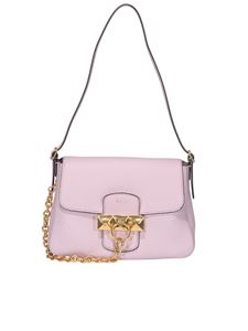 Mulberry - Keeley mini hammered leather bag in pink