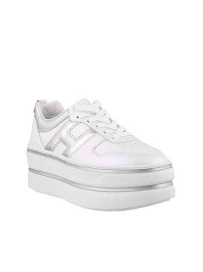 Hogan Fall Winter 20/21 h449 sneakers in white - HXW4490BS01O6T0351