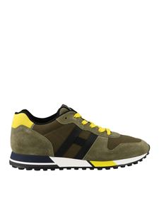 Hogan - H383 sneakers in green