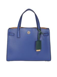 Tory Burch - Walker small tote in blue