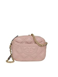 Tory Burch - Flaming quilted leather bag in pink