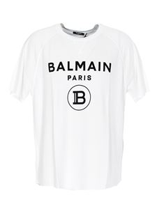 Balmain - Logo T-shirt in white
