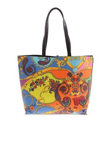 Versace Jeans Couture - Paisley Fantasy print shopper in multicolor
