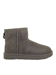 UGG - Mini Classic II ankle boots in grey