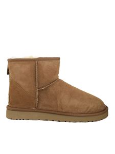 UGG - Mini Classic ankle boots in brown