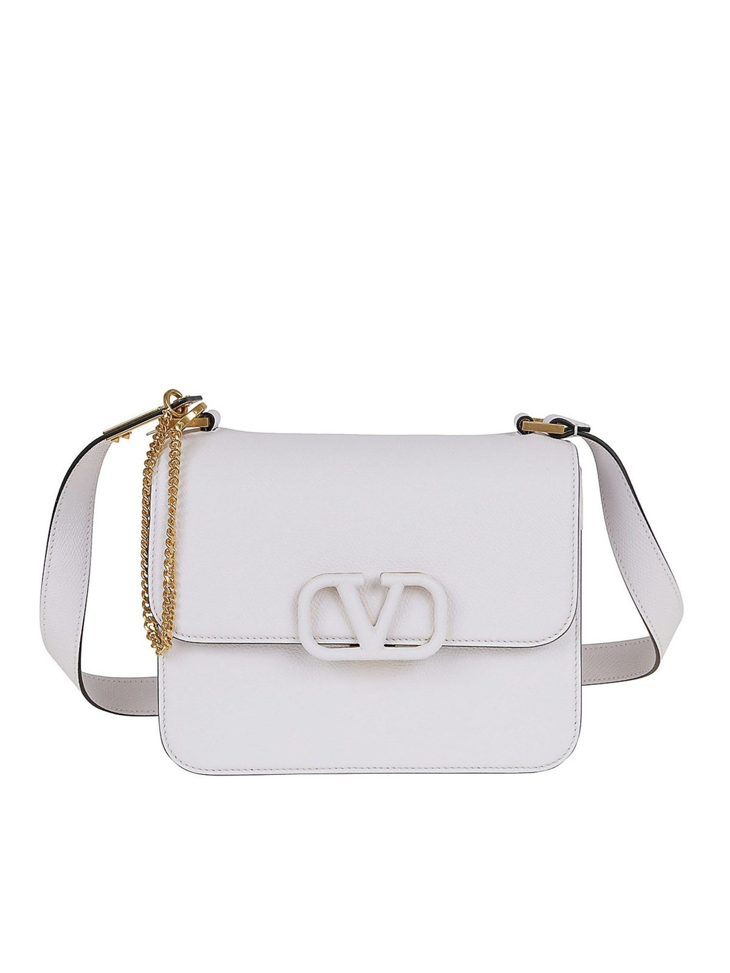 VALENTINO VSLING BAG IN WHITE